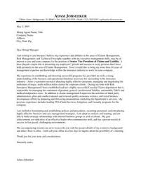 ideas of example cover letter for insurance company about letter