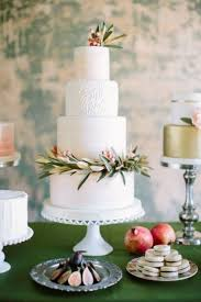 wedding cake greenery creative wedding cakes with greenery decorations 2391365 weddbook