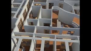3d office design g p 3000 sq ft youtube