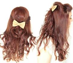 hair bow with hair 8 ways to wear bows in your hair ma nouvelle mode