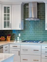 Interior Original Ryan Christenson Blue Green Kitchen Backsplash