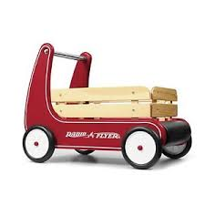 wagon baby baby walker assistant toddler pull along wagon radio flyer