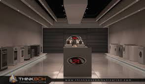 st international home appliances 3d shop interior thinkbox