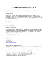 undergraduate internship resume sample undergraduate internship
