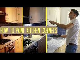 how to paint kitchen cabinets cupboards uk makeover on a budget Paint For Kitchen Cabinets Uk