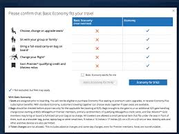 united baggage united baggage fees new united airlines basic economy tickets are