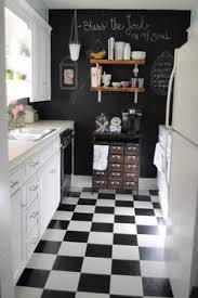 Black And White Checkered Kitchen Rug Touring Shavonda Gardner U0027s Eclectic Home Ikea Kitchen Cabinets