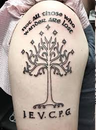 got my last week the white tree of gondor with the