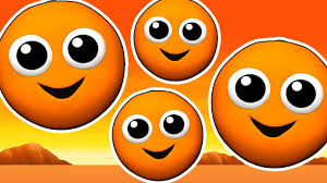 the orange is orange epic learn colors for children 3d