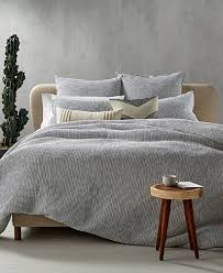 Chambray Duvet Hotel Collection Waffle Weave Chambray Bedding Collection Created