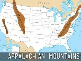 Physical Map Of North America by Us Physical Map Tornadoes Dont Happen In Mountains Or Do They Map