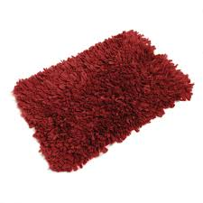 amazon com fhe group tissue rug bath mat 30 by 20 inches red