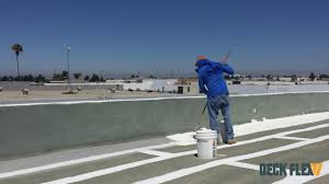 Surecoat Roof Coating by How To Apply Elastomeric Roof Coating Using Deck Flex T2424