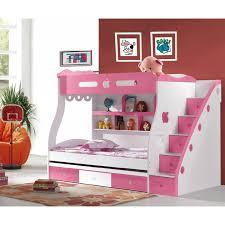 Best Bedroom Images On Pinterest Children Kids Bedroom - Pink bunk bed