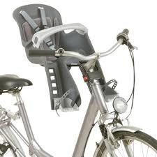 siege v o hamax polisport bilby junior baby seat front fastening grey probikeshop