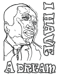 Martin King Printable Coloring Pages Free Inside Of Dr Luther Jr J Dr Martin Luther King Jr Coloring Pages