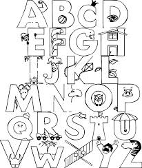 free alphabet coloring pages u2013 corresponsables co