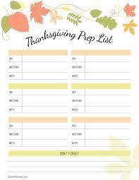 best thanksgiving preparation printables happy thanksgiving