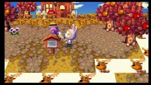 animal crossing city folk the harvest festival thanksgiving