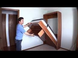 Heavy Duty Diy Bed Youtube best 25 murphy bed hardware ideas on pinterest wall folding bed