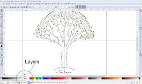 family tree tutorial cutesy crafts