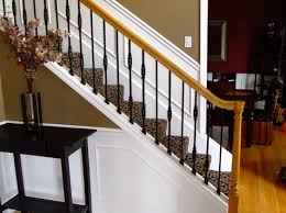 Replacing Banister Spindles Knee Wall Iron Baers Iron Baers Stair Spindles Staircase Wood