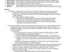 quality control analyst sample resume qa analyst resume samples