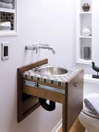 sinks for small spaces hideaway sink unclutterer