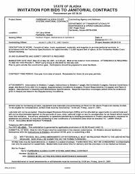 Building Contractor Resume Contractor Bid Sheet Template Contractor Bid Proposal Forms