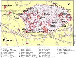 Map Of Rome Italy by Exploring Pompeii A Visitor U0027s Guide Planetware