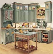 ideas for painting old kitchen cabinets painted kitchen cabinet primitive kitchen cabinets ideas 6982 baytownkitchen