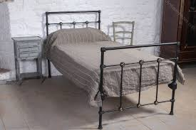 Iron Single Bed Frame Simple Black Iron Single Bed Antiques Atlas