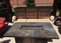 Ow Lee Fire Pit by Mallin Salisbury Sofa With An O W Lee Santorini Fire Pit Enjoy
