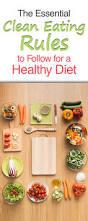 best 25 clean eating rules ideas on pinterest food plan