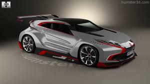 mitsubishi concept xr phev mitsubishi xr phev evolution vision gran turismo 2016 3d model by
