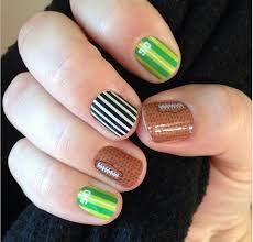 football nails your source for the world u0027s best nail art designs