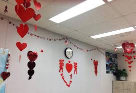 heart decorations 50 exquisite s day decorations for classroom