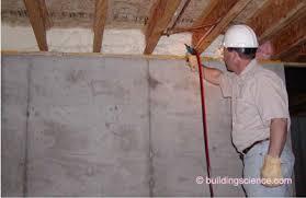 Spray Foam Insulation For Basement Walls by Info 408 Critical Seal Spray Foam At Rim Joist Building