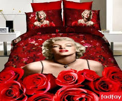 FADFAY Home TextileMarilyn Monroe Comforter Set Queen SizeSexy - Marilyn monroe bedroom designs