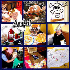pirate birthday party ideas crafts and games everyday mom ideas