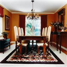 beige valance red dining room with wainscoting extraordinary interior room hearth black ceramic brown round