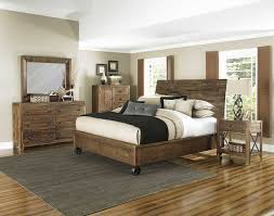 Casters For Bed Frame River Ridge Island Bed With Casters Distressed Natural Decor South