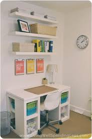 DIY Office On A Budget Living Well Spending Less - Home office designs on a budget