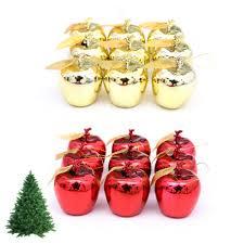 popular apple christmas ornament buy cheap apple christmas