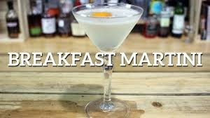 martini sour breakfast martini gin cocktail recipe by salvatore calabrese youtube