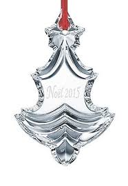 baccarat 2015 annual edition noel ornament clear