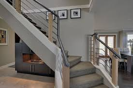 modern contemporary stair railing u2014 railing stairs and kitchen