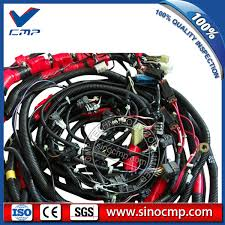 pc300 7 komatsu wiring harness for excavator 207 06 71110 cmp