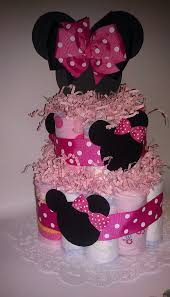 pink heart string 25 diaper cake ideas for a ravishing baby shower