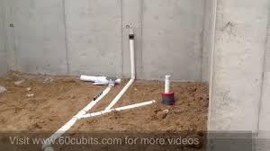 building a house 09 underground plumbing youtube